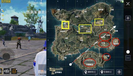 友谊精锐手游游戏岛屿地形图落地式迁移玩法攻略