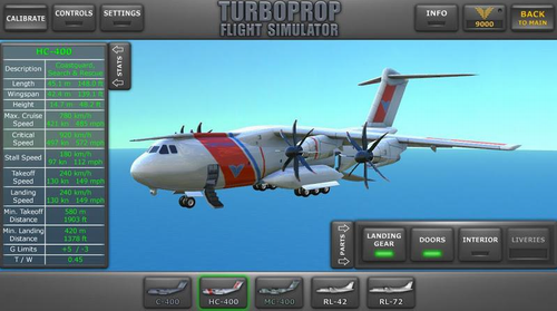 涡轮螺旋桨飞行模拟器最新破解版