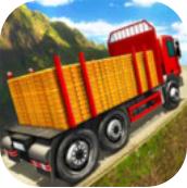 卡車司機泥濘山路