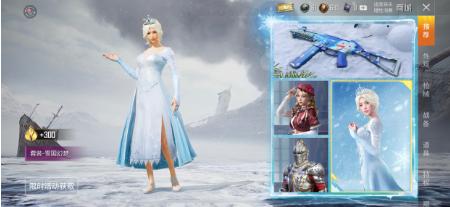 和平精英冰雪套装雪国幻梦外观特征解析攻略