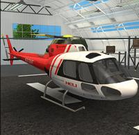 直升飞机救援模拟器