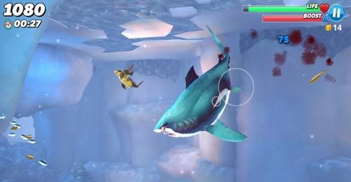 饥饿的鲨鱼世界3d