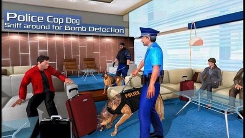 警察与警犬