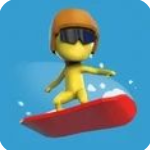 滑雪板冲刺
