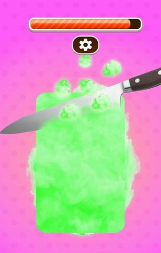 切割棉花糖