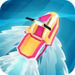 海上滑翔车手