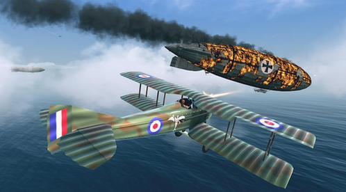 战机第一次世界大战