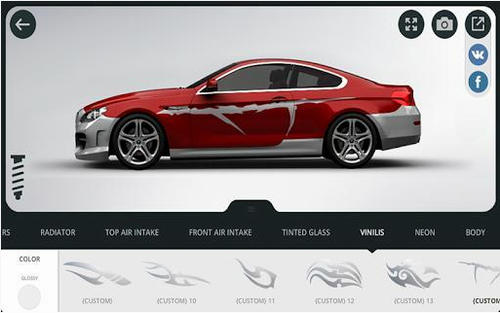 3D精致车模