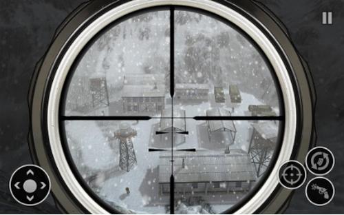 雪军狙击手射击战争汉化版