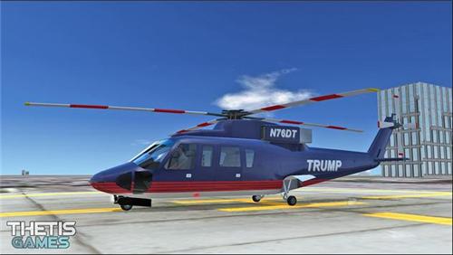 直升机模拟器