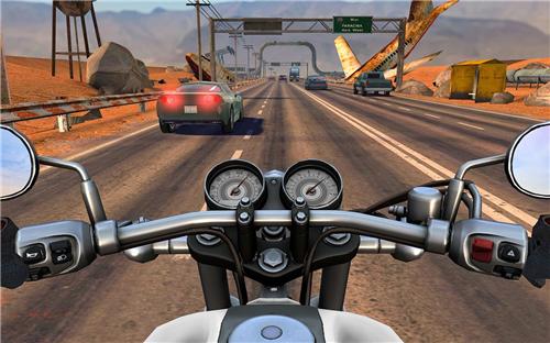 机动骑乘公路交通