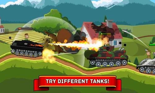 钢铁坦克大战中文版