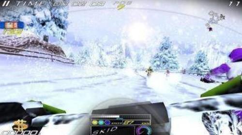 极限雪地摩托车 (3)
