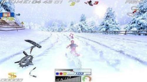 极限雪地摩托车 (2)