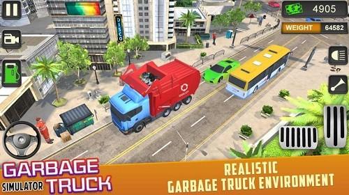 垃圾车驾驶模拟器 (4)