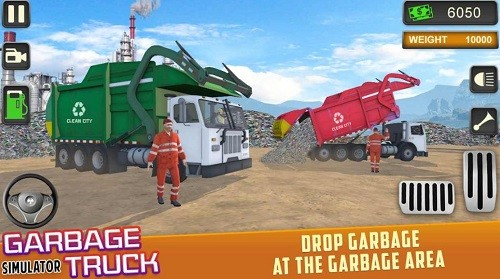 垃圾车驾驶模拟器 (1)
