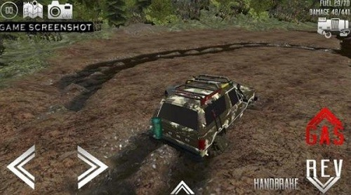 4X4驱动越野车模拟器