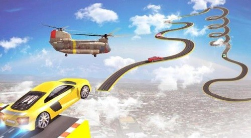 超级斜坡汽车特技赛车 (2)