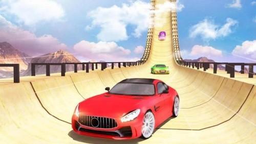 超级斜坡汽车特技赛车 (3)
