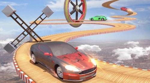 超级斜坡汽车特技赛车 (1)