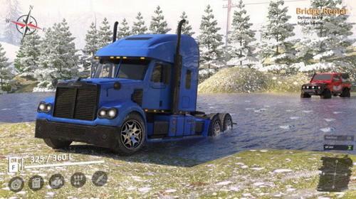 越野卡车驾驶