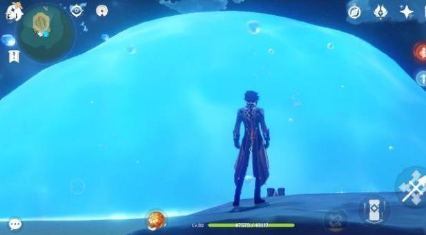 原神海岛大水泡怎么打开?