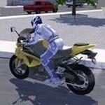 城市交通摩托骑手