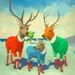 普通的鹿模拟
