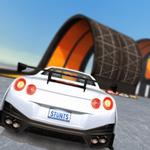 汽车特技比赛超级坡道