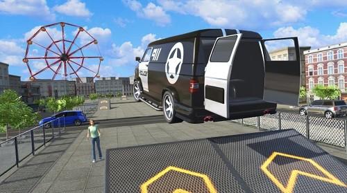 都市汽车驾驶模拟